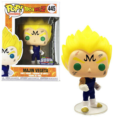 Funko Pop #445 Animation Dragon Ball Z Majin Vegeta Vinyl Figure New with Box