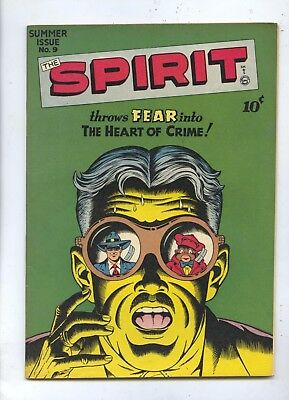 HIGH GRADE 1947 The Spirit #9 Quality Comic Book NM
