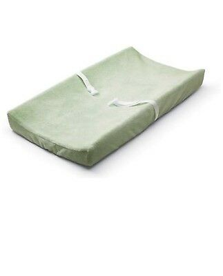 Koala Baby Essentials Ultra Plush Changing Pad Cover Sage aqua New