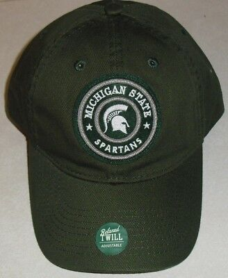 purchase cheap ec2c6 afedf ... coupon for michigan state spartans adjustable strapback hat new with  tags ncaa bce3d 86e92