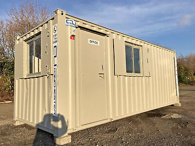 20ft x 8ft - Anti Vandal Office | Canteen | Drying Room | Fully Refurbished