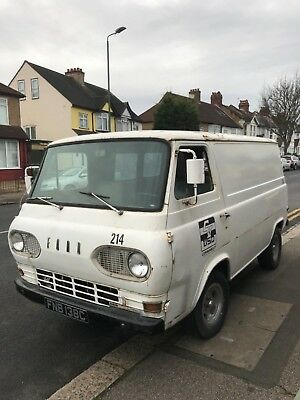 1965 Ford Econoline Van. LHD. Fully UK Registered