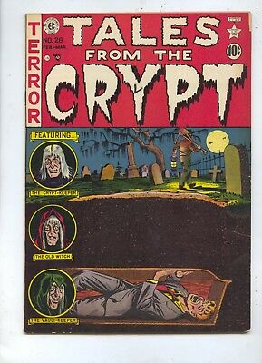 HIGH GRADE 1952 Tales From The Crypt #28 EC Comic Book VF