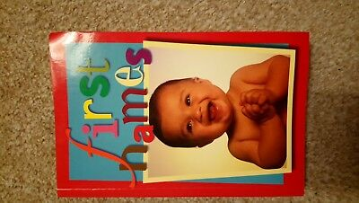 First Names Baby Names Book