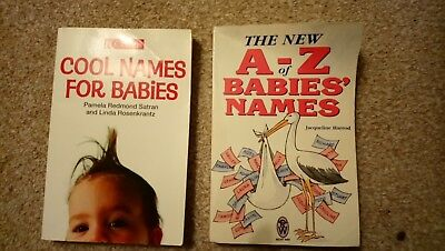 2x Baby Names Books