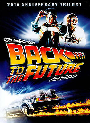 Back to the Future: 25th Anniversary Trilogy (DVD, 4-Disc Set) - NEW ™