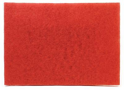 "3M 59258 Red 5100 Buffing Buffer Pad 20"" x 14"" x 1"" Box of 10 - NEW!"