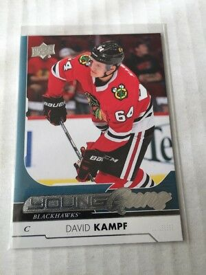 2017-18 Upper Deck Young Guns David Kampf