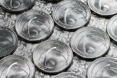 Russia 25 rubles 2019 75 years of the liberation of Leningrad from the blockade
