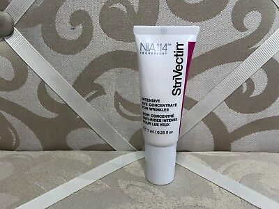 Strivectin Nia114 Intensive Eye Concentrate For Wrinkles ~ 0.25 Oz Travel Size