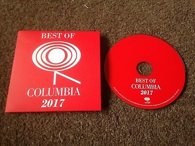 Best Of Columbia 2017 Rare Promo Cd Mint Unplayed Kasabian Arcade Fire The Shins
