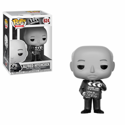 Director Alfred Hitchcock Black And White Funko Pop