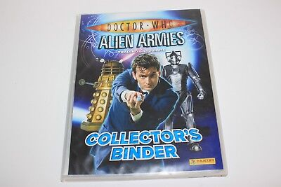 Doctor Who Alien Armies Trading Card Game Complete Set with 1 Limited Edition
