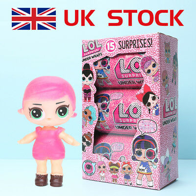 New Lol Outrageous 3Layer Surprise Ball Series Doll Mystery Kids Toy With Light