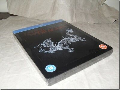 ENTER THE DRAGON STEELBOOK blu-ray UK RELEASE NEW SEALED