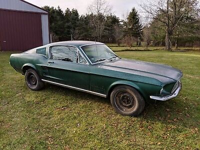 1967 Mustang Fastback project V8 and Automatic