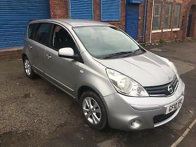 2010 facelift Nissan note Acentra 1.4 petrol Silver micra salvage damaged