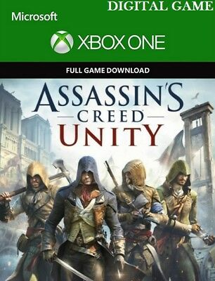 Assassin's Creed Unity Xbox One key Code  Region libre (Juego digital)