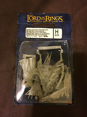 Games Workshop LotR Lord of the Rings Mahud King Foot and Mounted Metal SEALED