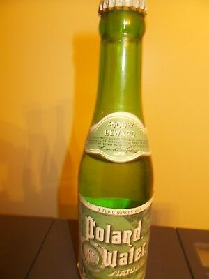 Poland Spring Maine Water Bottle,  Mineral Spring water