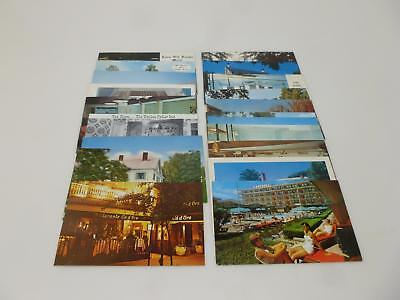 20 Post Cards US State Roadside Motel and Restaurants 1960s  FREE SHIP