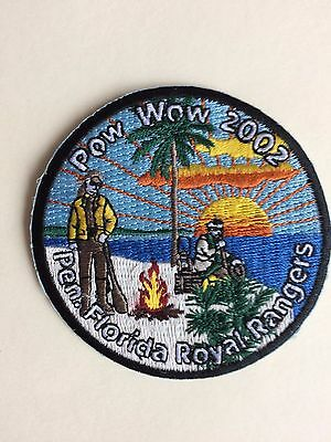 ROYAL RANGERS, Patch- POW WOW 2002- Pen. Florida/ Collectible