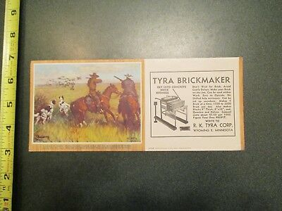 Tyra Brickmaker Wyoming Minnesota MN Advertising Blotter