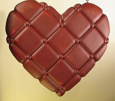 """""""QUILTED HEART"""" Replacement Sign - Resin Sign for Country Arrow Holders"""