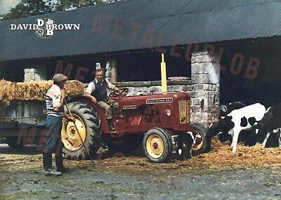David Brown 880 Tractor - Poster (A3)
