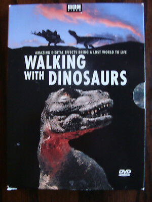 Walking with Dinosaurs (DVD, 2000, 2-Disc Set) - Very Good - Free Shipping