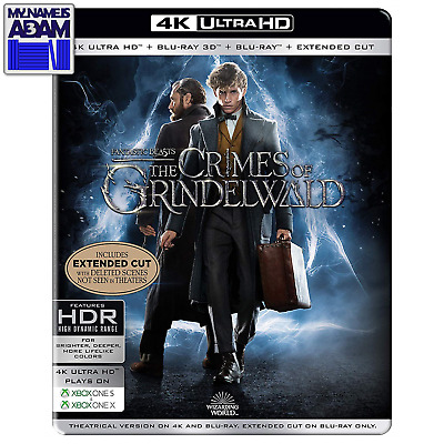 Fantastic Beasts: The Crimes Of Grindelwald 4K/3D/2D + Extended Steelbook