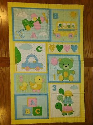 Handmade baby quilt blanket, gender neutral/ unisex, girls boys