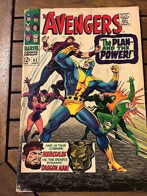 Marvel The Avengers Silver Age Comic # 42 ; 1967