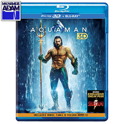 [Dc] Aquaman 3D + 2D (Region Free) Pre-Order Now! Trusted Seller