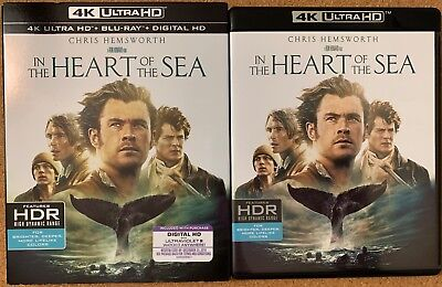 In The Heart Of The Sea 4K Ultra Hd Blu Ray 2 Disc Set + Slipcover Sleeve Buy It