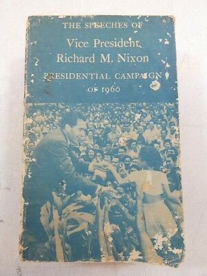 Vice President Richard M. Nixon speeches signed by Olin E. Teague 94th Congress