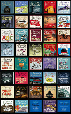 The HERCULE POIROT Mysteries By Agatha Christie (40 MP3 Audiobook Collection)