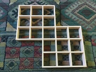 Shadow Box, wooden shelf for display of small items