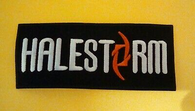 Halestorm Patch Embroidered Iron On Or Sew On Badge