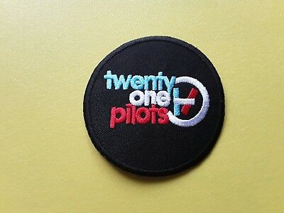 Pop, Rock, Punk, Metal Music Sew On & Iron On Patch:- Twenty One Pilots