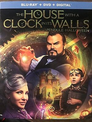 The House With A Clock In It's Walls Blu Ray & DVD w Slip Cover Canadian *LOOK*