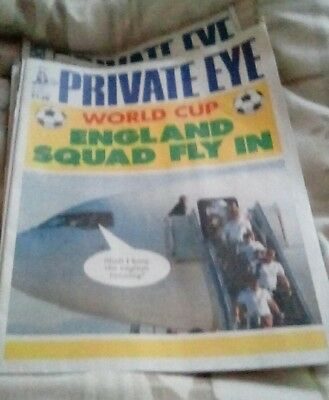 Private Eye Magazine issue 1368_ England Squad Fly In June 2014