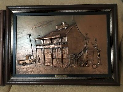 Tom Gregus copper pictures authenticated and signed by artist