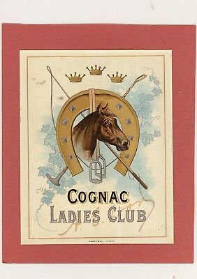 1 Etiquette Cognac LADIES CLUB