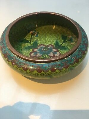 Cloisonne Antique Chinese bowl 19th Century