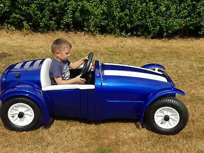 Build Manual & Plans. Kids Racing Car From 2 Compost Bins!  See Action Videos >