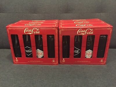 VINTAGE COCA COLA HERITAGE CLASSIC 4 PACK GLASS CIRCA. 1899-1916 x 6!