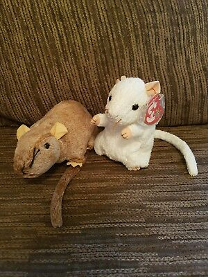 TY Beanie Baby - Mouse And Rat Set