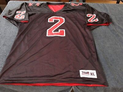 CINCINNATI BEARCATS XL NCAA reversible NFL American football jersey shirt