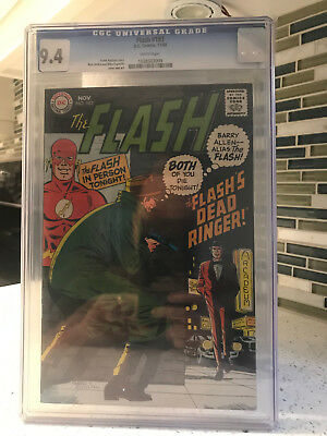 Flash #183 DC Comics Nov 1968 CGC 9.4 1038503009